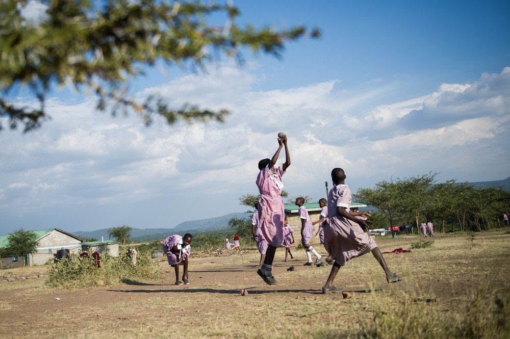 Many young Maasai girls today are seeking an education at an age when they traditionally marry. A teacher at the Nkoilale primary school says she has seen children as young as nine, running to the school, to escape forced early marriage and female circumcision.