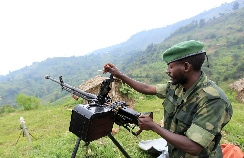 In the eastern Democratic Republic of Congo, a rebel group called M23 has scored several victories in the past week. Congo\(***)s government has accused neighbouring Rwanda of fomenting and supporting the rebellion, which began as a mutiny by former rebels in the government army.