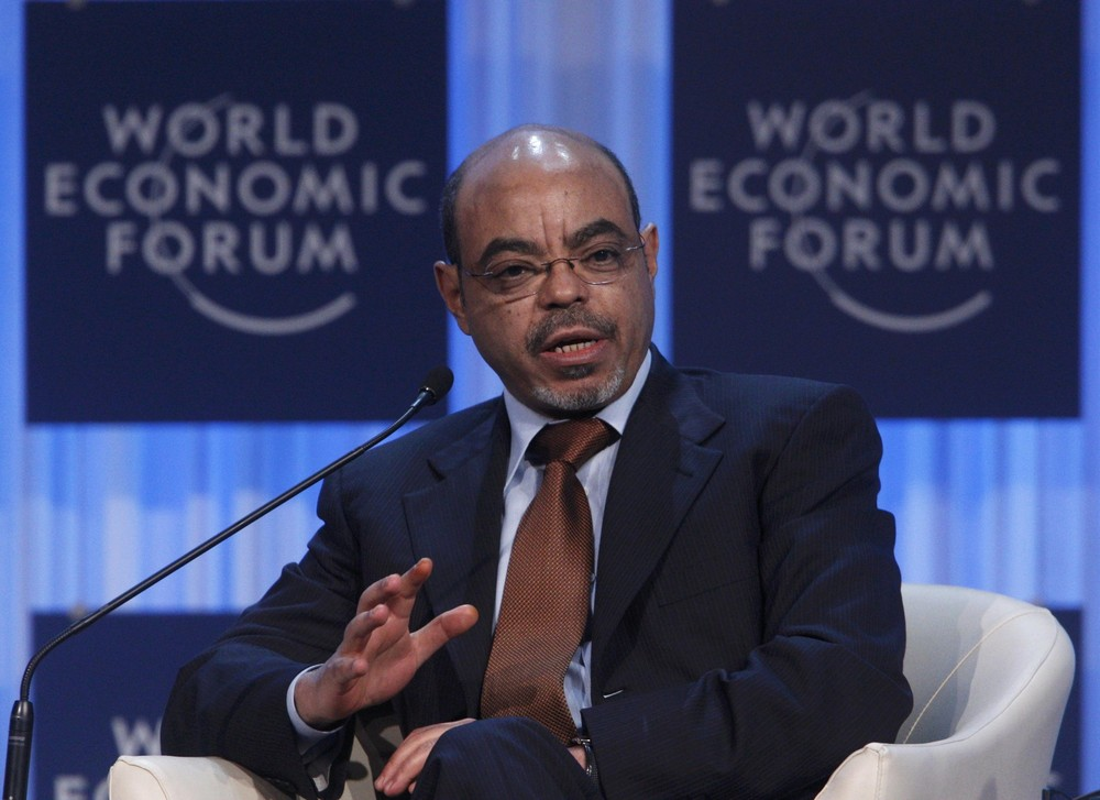 Ethiopia(***)s former Prime Minister Meles Zenawi died at a hospital in Europe, the country(***)s state television network reported on Tuesday. He was 57 years old.