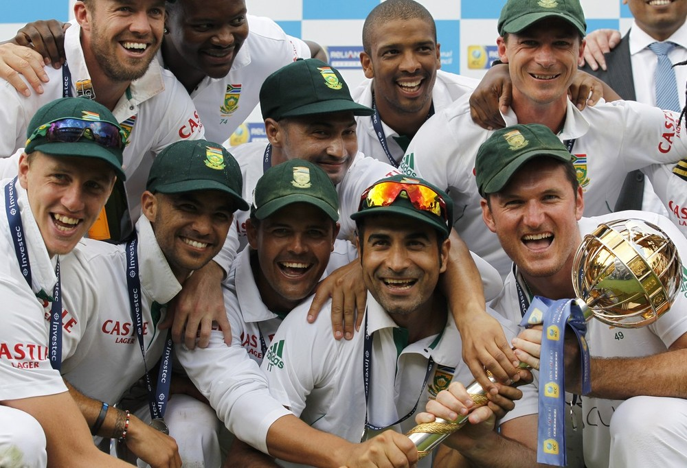 Sitting pretty at the top of the Test rankings are South Africa who claimed the number one spot with a 2-0 series victory over England. To make the win all the sweeter it was England who they leapfrogged in the standings