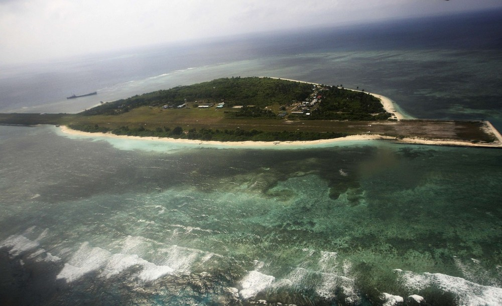 Countries have fought over territory in the South China Sea for centuries, but a recent rise in tensions has provoked concerns that the area is going through a critical moment and could have global consequences. Above, an aerial view shows Pagasa Island, which belongs to the disputed Spratly group of islands, claimed by China and Vietnam.