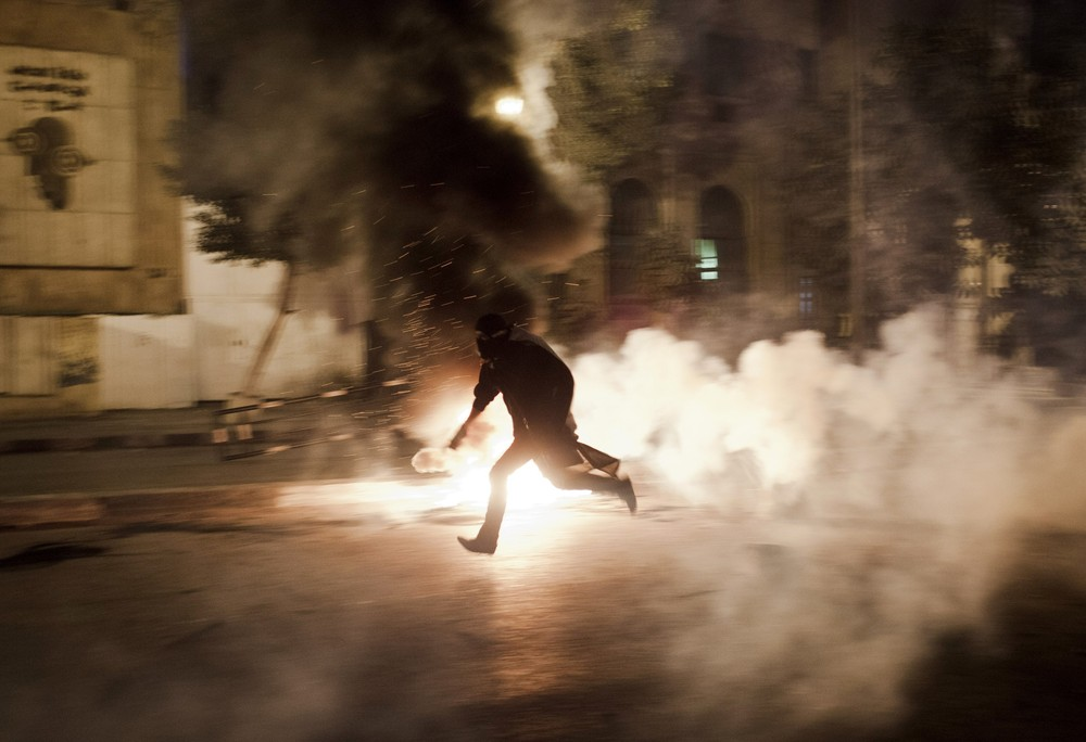 Protests broke out across Egypt after the death penalty was announced in a 
