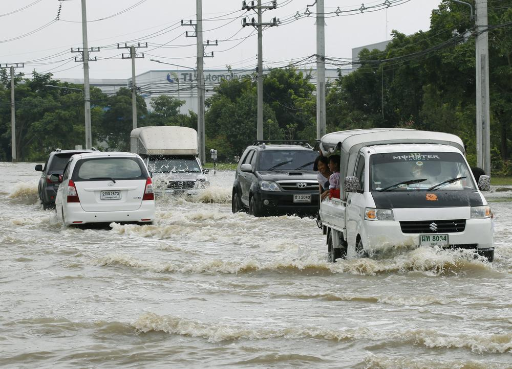 More than 30 people have been killed in three weeks of heavy monsoon flooding in Thailand.