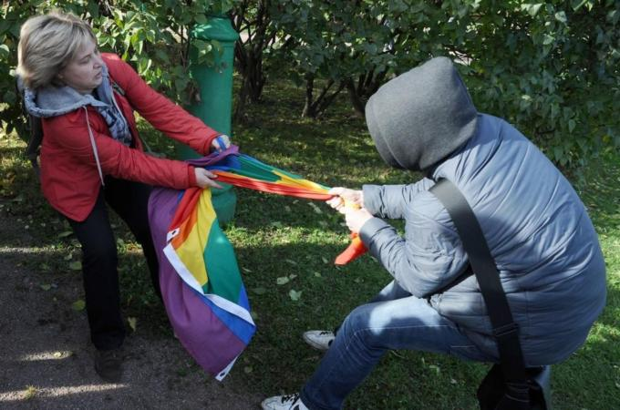 "Arrests at Russian Protest Reminds World that Russia's Prohibition on Homosexual ""Propaganda"" Remains"