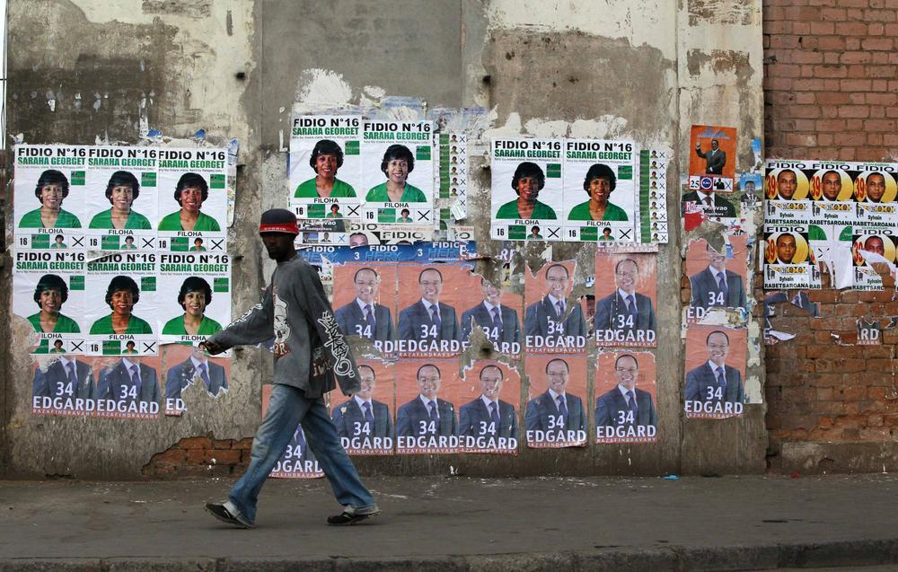 The people of Madagascar began voting on Friday in a presidential election they hope will end a five-year crisis.