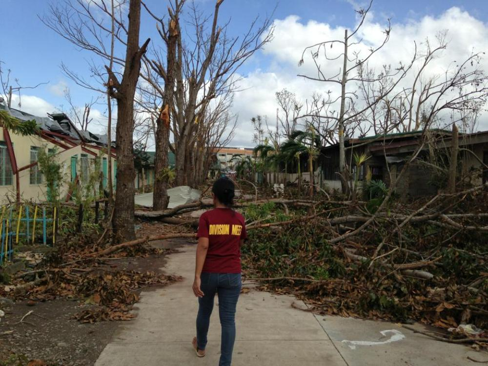 Ormoc, the second-largest city in the province of Leyte with a population of 200,000, was hit badly by Typhoon Haiyan.
