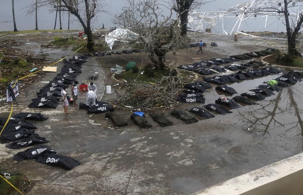 A national state of calamity has been declared in the Phillipines with an expected death toll expected to reach tens of thousands.