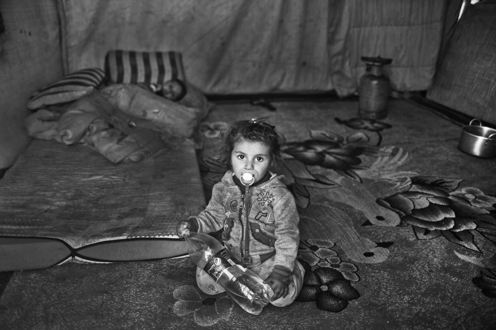 <p>The youngest children in the Domiz refugee camp in Iraqi Kurdistan are not aware of the conflict in Syria. To them, the camp is their home.</p>