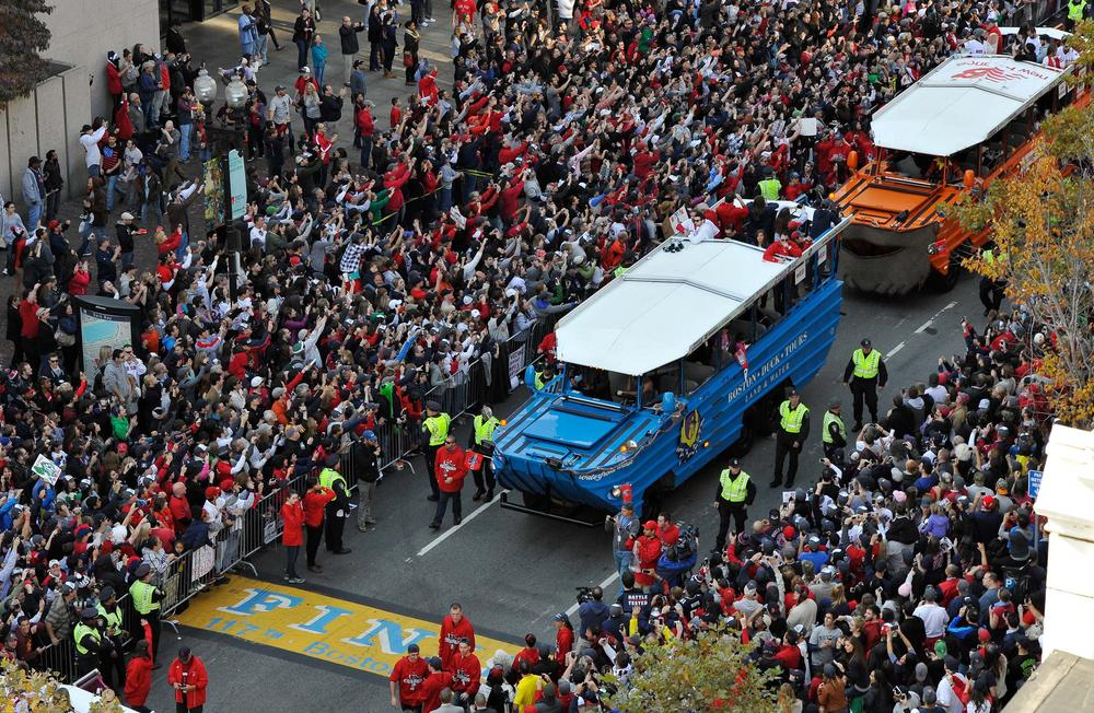 red sox parade