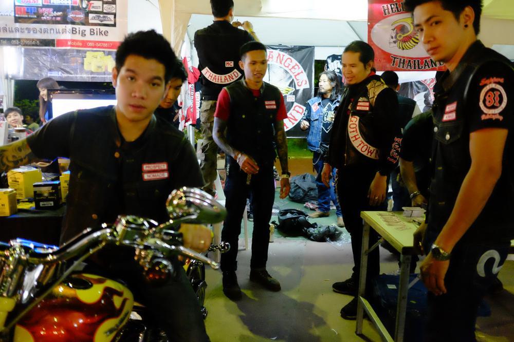 In Pictures Thailand S Bad Boy Bikers Al Jazeera