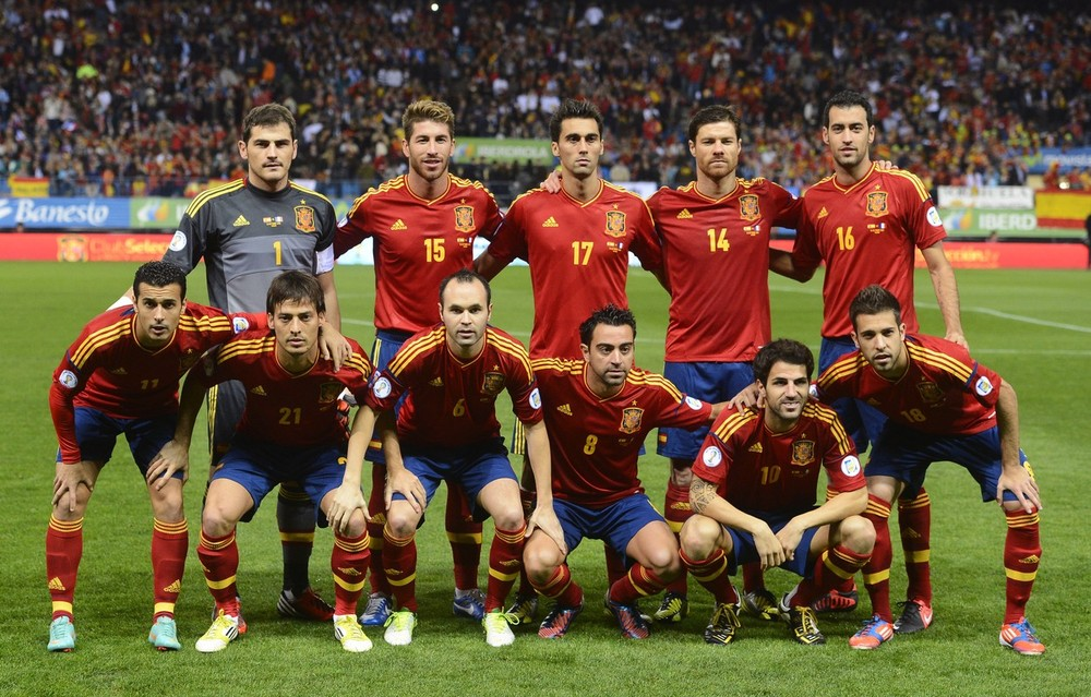 In the latest FIFA rankings, usual suspects Spain lead an unchanged top three ahead of Germany and Argentina.