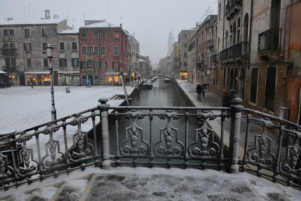 An icy blast has swept across parts of Europe, causing temperatures