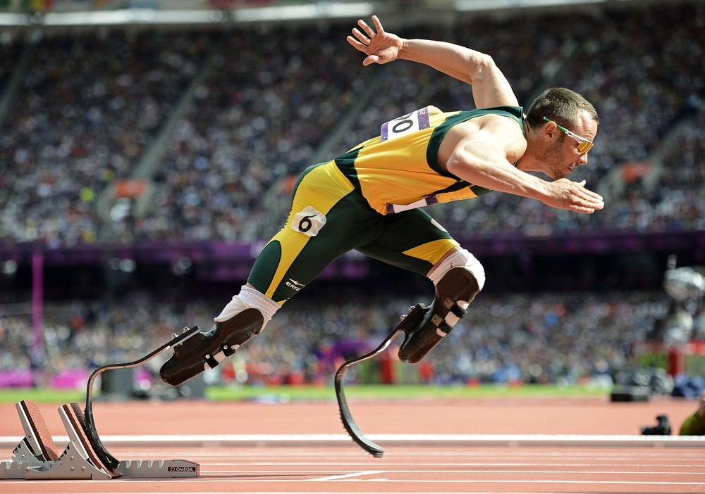 South African paralympic star Oscar Pistorius is being questioned by South African police for the shooting of his girlfriend, domestic media said on February 14. Johannesburg\(***)s Talk Radio 702 said Pistorius was understood to have shot his girlfriend in the head and arm, although the circumstances surrounding the incident were unclear. He may have mistaken her for a burglar, the radio report said.