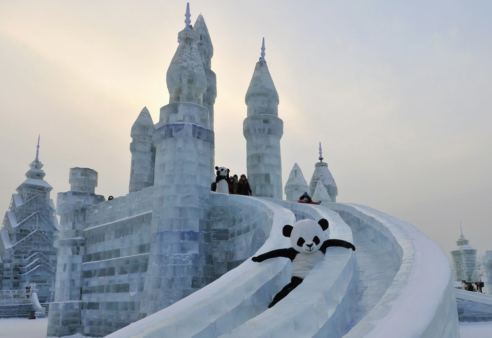 Shenyang International Ice And Snow Festival International Ice And Snow