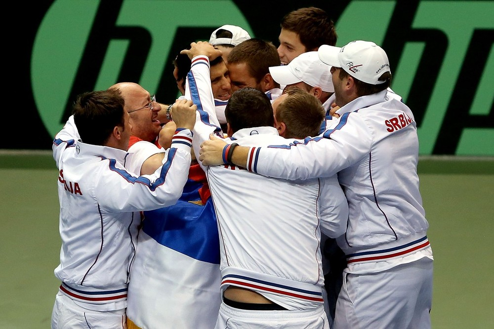 Serbia established an unassailable lead over the US in