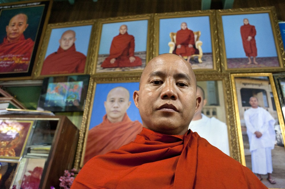 Ashin Wirathu, the leader of  the  969  movement, encourages Buddhists to only shop at Buddhist owned shops.