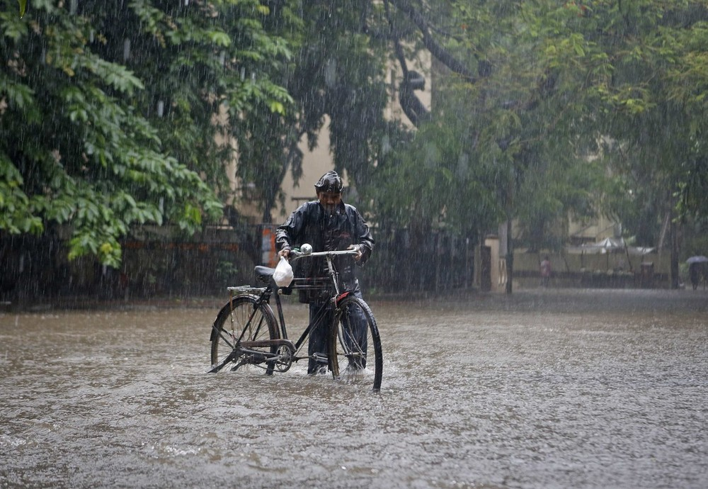 The monsoon has spread across the entirety of India a month early, which is the earliest ever recorded.