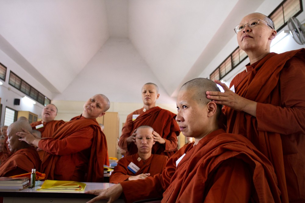 novice buddhist single women The laws also outlaw extra-marital affairs and place restrictions on marriages between non-buddhist men and buddhist women failed to field a single muslim.