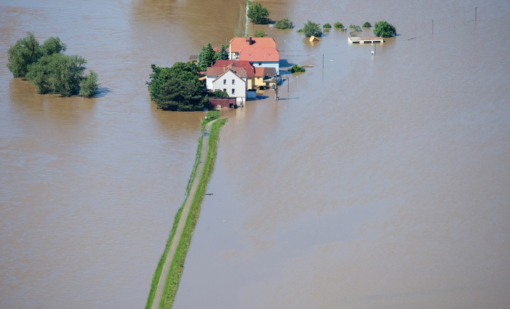 Rain poured across Europe for weeks on end, resulting in flooding and swollen rivers.
