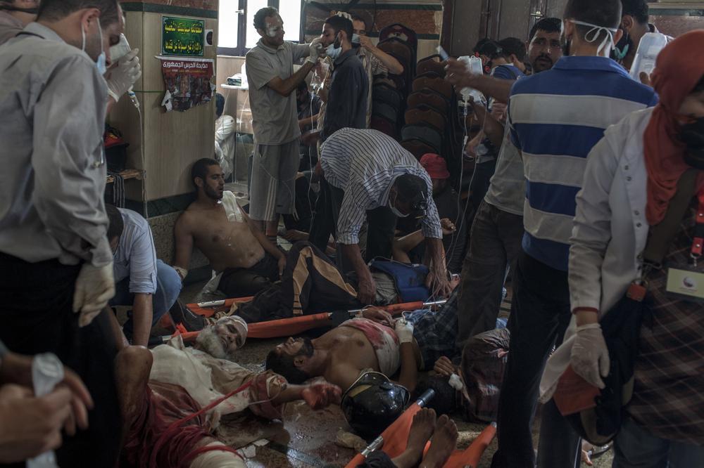 Jeudi 15 août 2013 / Les événements en Egypte après le coup d'état militaire