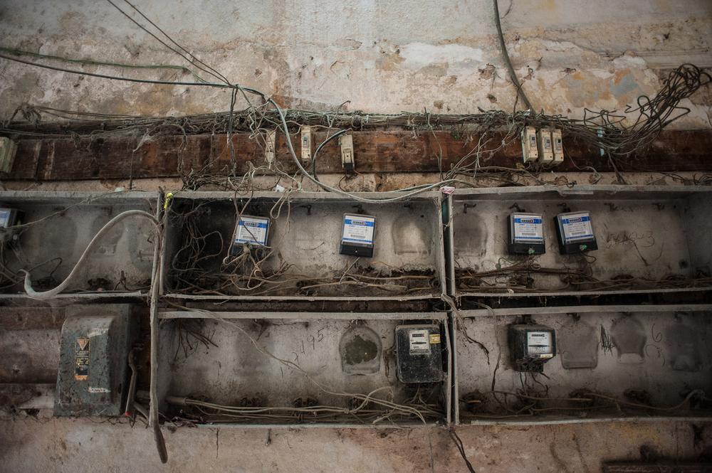 in pictures housing in old havana al jazeera old fuse boxes used in homes