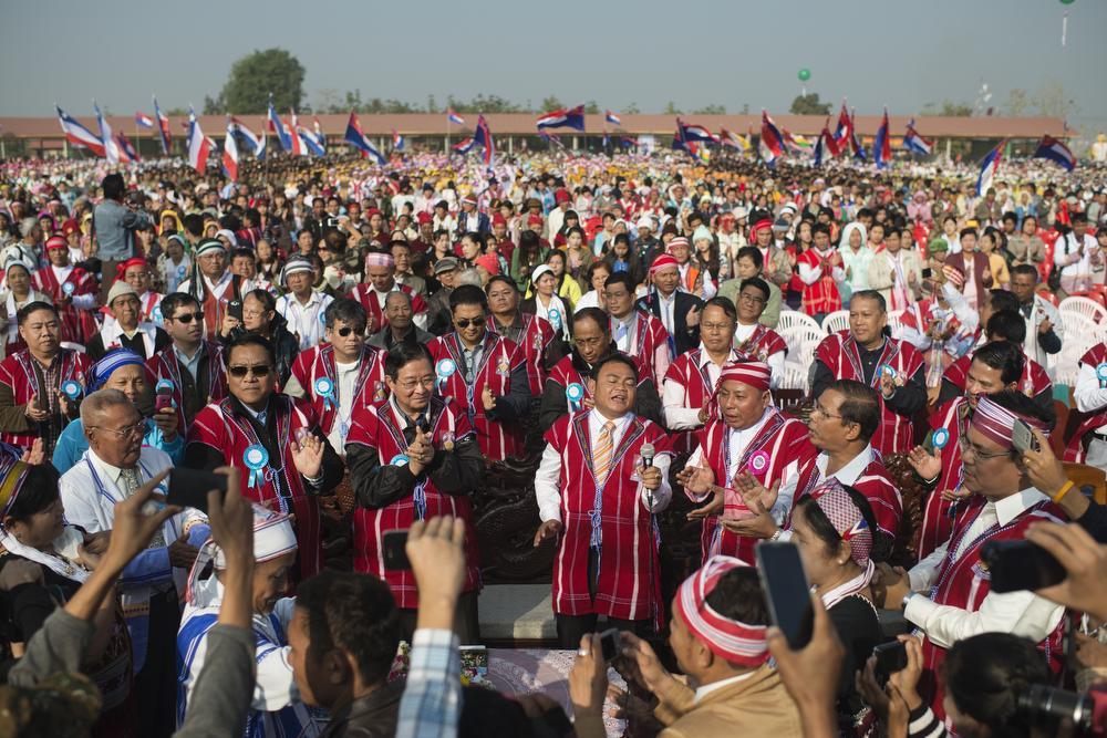 Calendar Myanmar : In pictures myanmar s independence day al jazeera