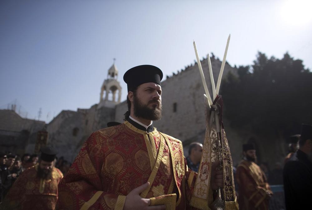 Eastern Orthodox Christmas.In Pictures Orthodox Christmas Al Jazeera