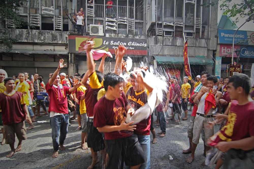An estimated 10 million Filipino Catholics participated in a procession to celebrate the feast of the Black Nazarene.