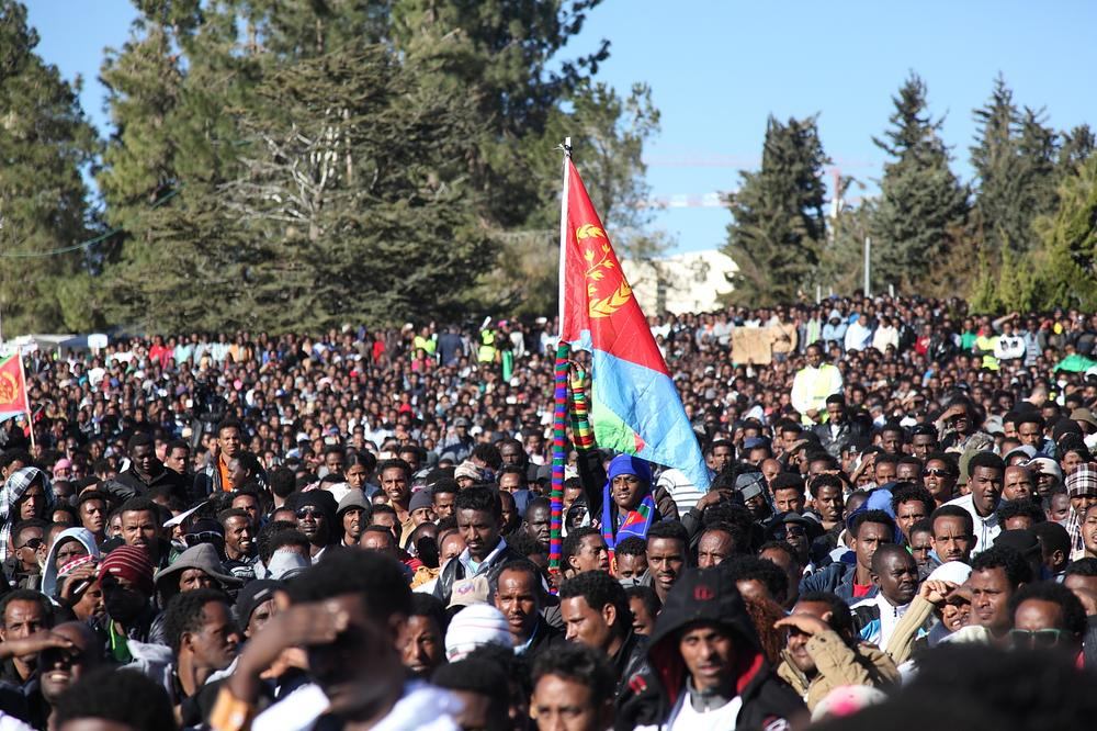 <p>The biggest groups of African asylum seekers in Israel come from Sudan and Eritrea.</p>