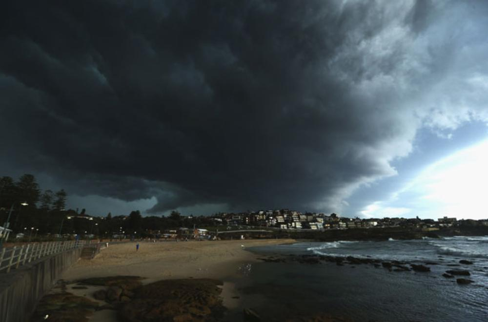A huge storm has lashed Sydney causing major problems in and around the city.