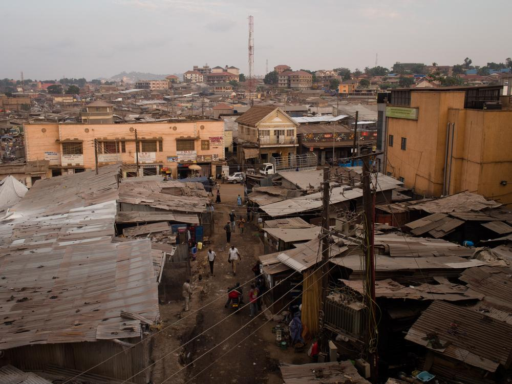 The Kisenyi slum in the middle of the capital, Kampala, is considered the roughest area of the city.