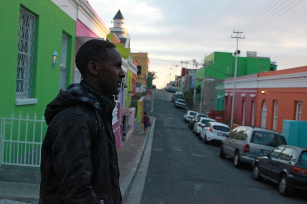 Abdulle lives in Bo-Kaap close to the heart of Cape Town(***)s central business district. Every morning he wakes up before 5am to set up his stall in the city centre.