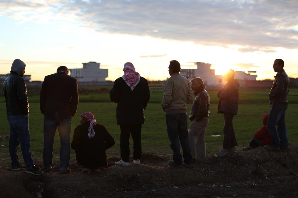 More than 190,000 Syrians from Kobane have escaped to neighbouring Turkey.