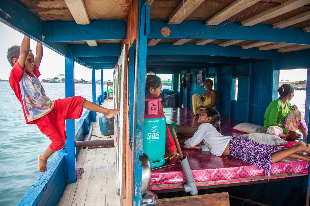<p>The Bajau Laut, also known as sea gypsies, are an indigenous ethnic group who live a nomadic lifestyle. Many live on their boats, roaming in the Coral Triangle, while others settle in small stilt houses built on reefs or islands.</p>