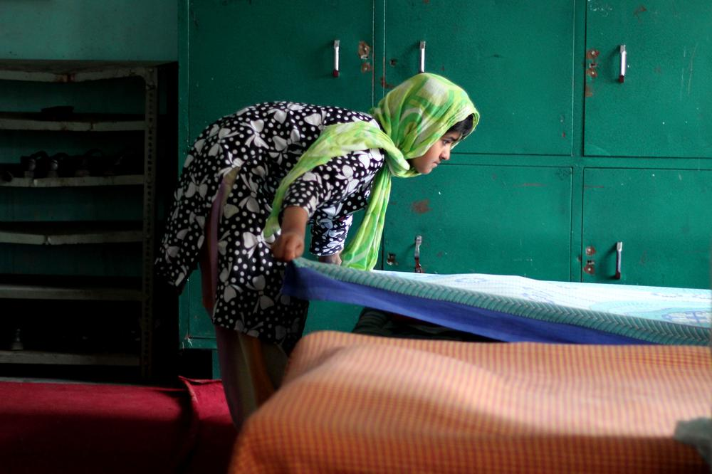 Gulshan-e-Banaat, the largest all-girls orphanage in the Kashmir Valley is home to 114 girls. Orphanages mushroomed in India-administered Kashmir after the armed insurgency that began in 1989. [Showkat Shafi/Al Jazeera]