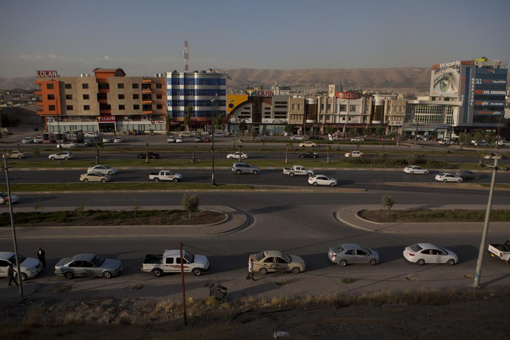 Kurdish Iraq is in the midst of a petrol shortage caused by the key capture of Iraqi oil refineries by Sunni fighters.
