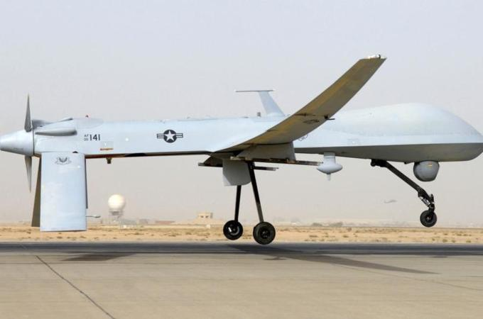 Armed US drones fly over Baghdad