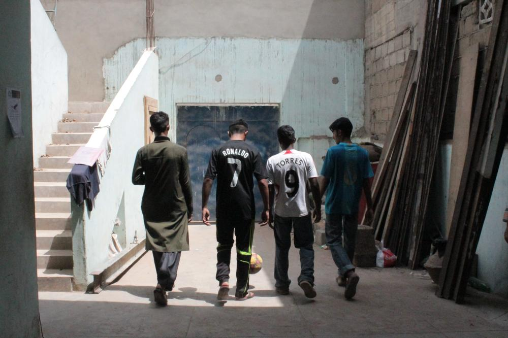 Residents of Lyari often complain of neglect where local players are ignored for national duty. There are no decent facilities in the area either with makeshift indoor arenas, including boxing clubs and old storage areas, being used by kids to practice.