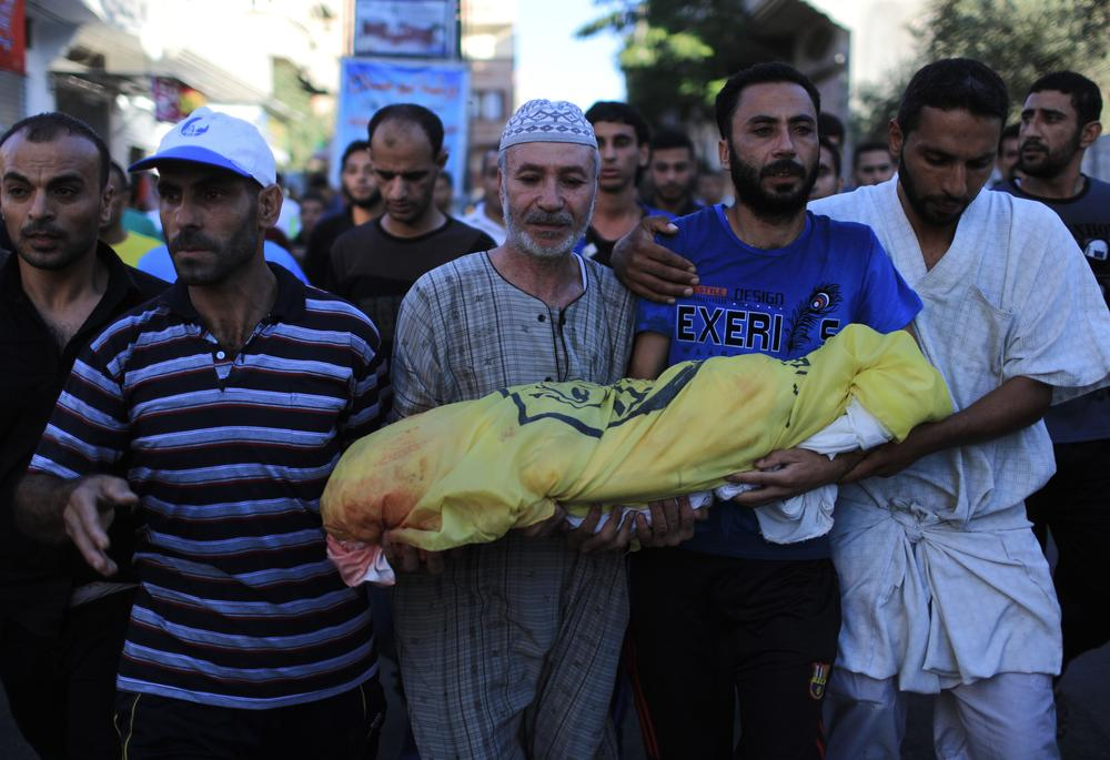 At least 165 Palestinians have been killed and almost 1,000 others injured in Israeli air strikes on the Gaza Strip.