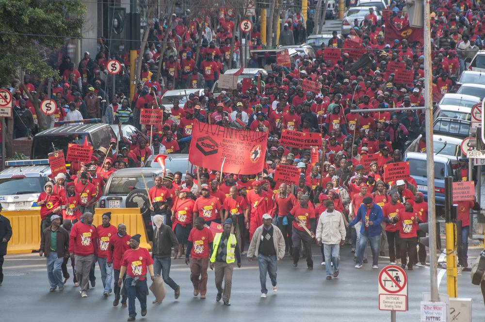 The current strike has been described as one of the biggest strikes in South Africa(***)s history.