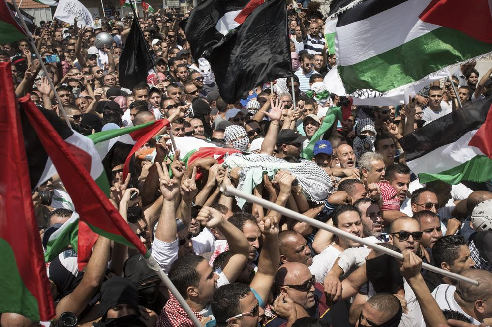 Thousands of mourners turned out for Mohammed Abu Khdair(***)s funeral. The 16-year-old(***)s body was found badly burned in a Jerusalem-area forest.