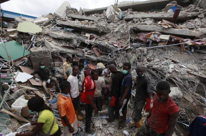 Nigeria Church Building Collapse in Nigeria Church Collapse