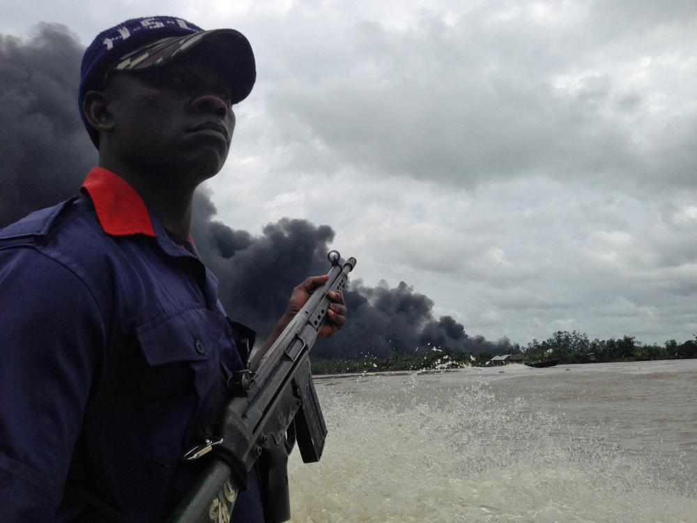 Oil theft in Nigeria is at its highest levels in five years, since the government gave amnesty to former rebels in the area.