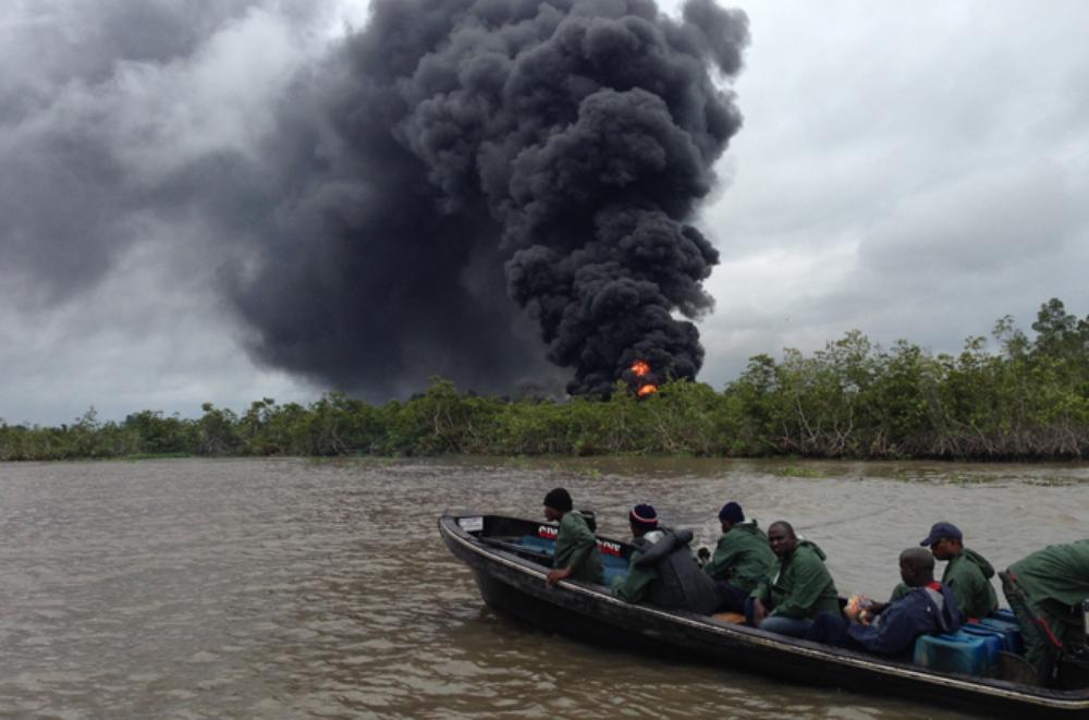 尼日利亚石油盗窃日益严重 - wuwei1101 - 西花社