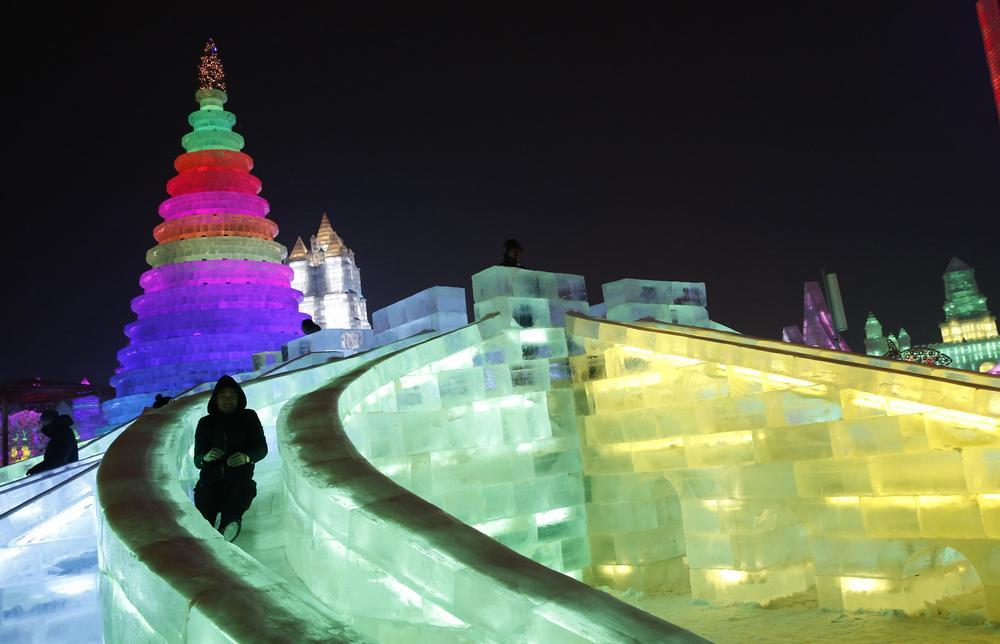 In pictures china s frozen city al jazeera