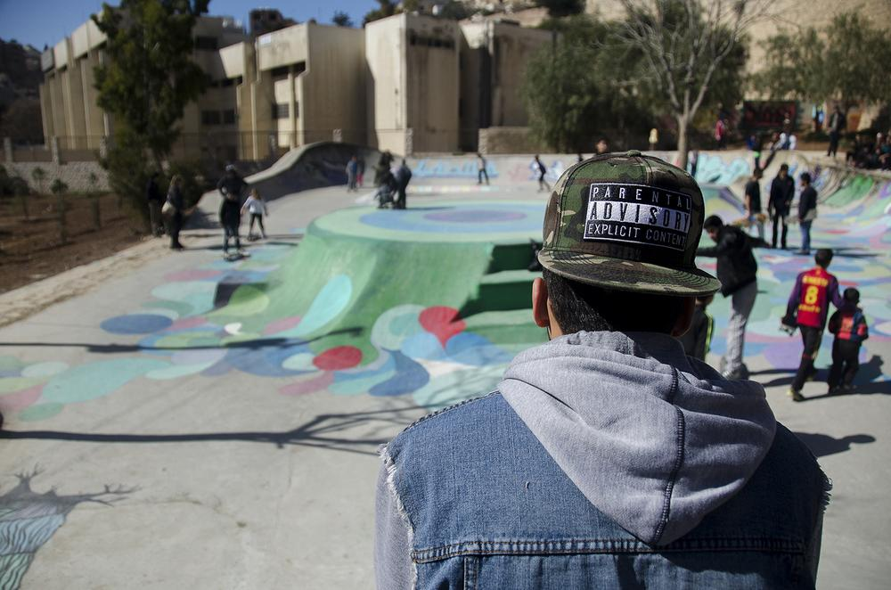 Jordan's growing skateboarding community has welcomed the opening of the country's first skate park.