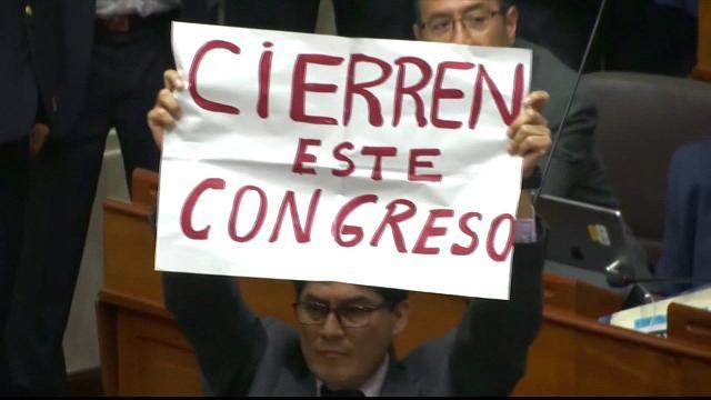 Peru voters demand corruption-free gov't