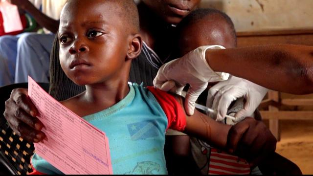 Image result for DRC struggles to contain measles outbreak