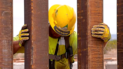 US border wall: Construction on sacred land