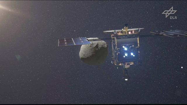 Japanese asteroid hunter touches down